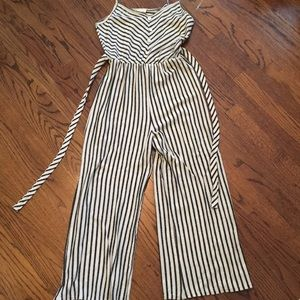 NWT Striped Jumpsuit | Caution to the Wind